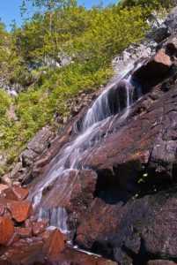 Корейский ключ, Водопад