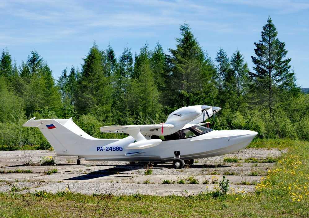 Полеты на гидросамолете